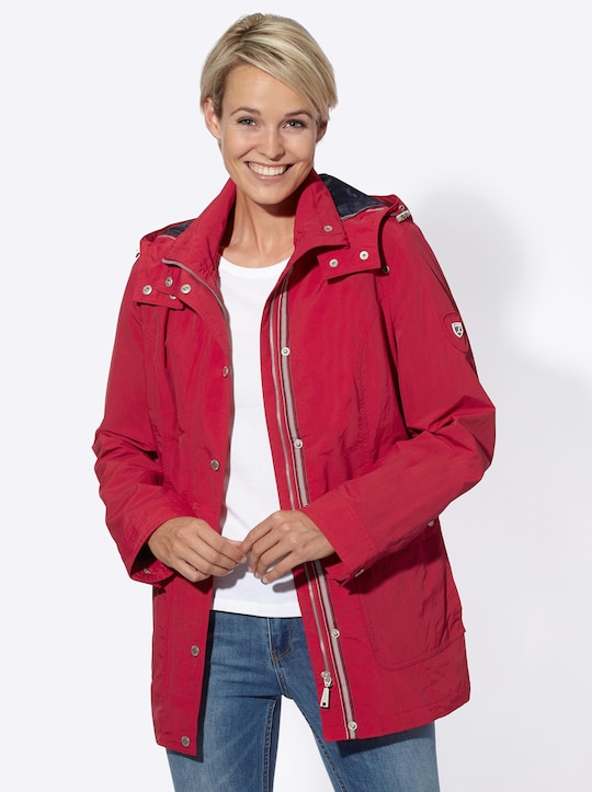 Collection L Jacke - rot