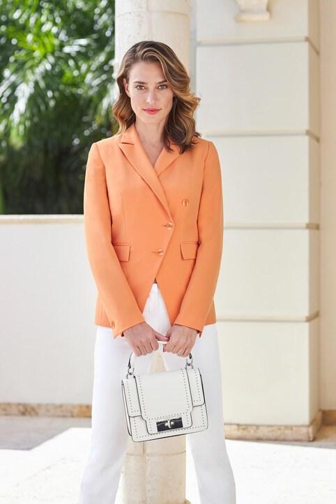 Ashley Brooke Blazer - orange