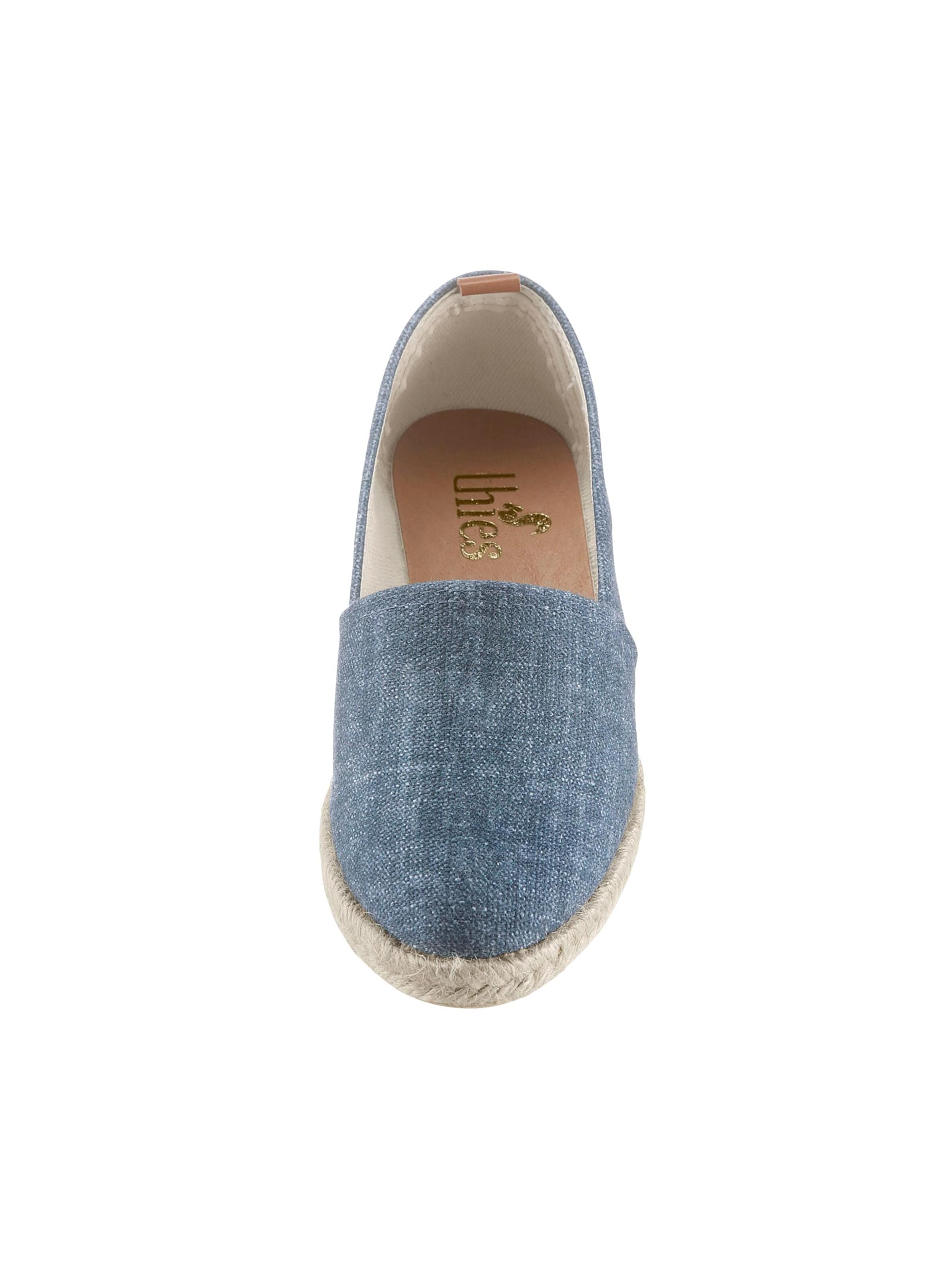 thies - Damen Slipper blau