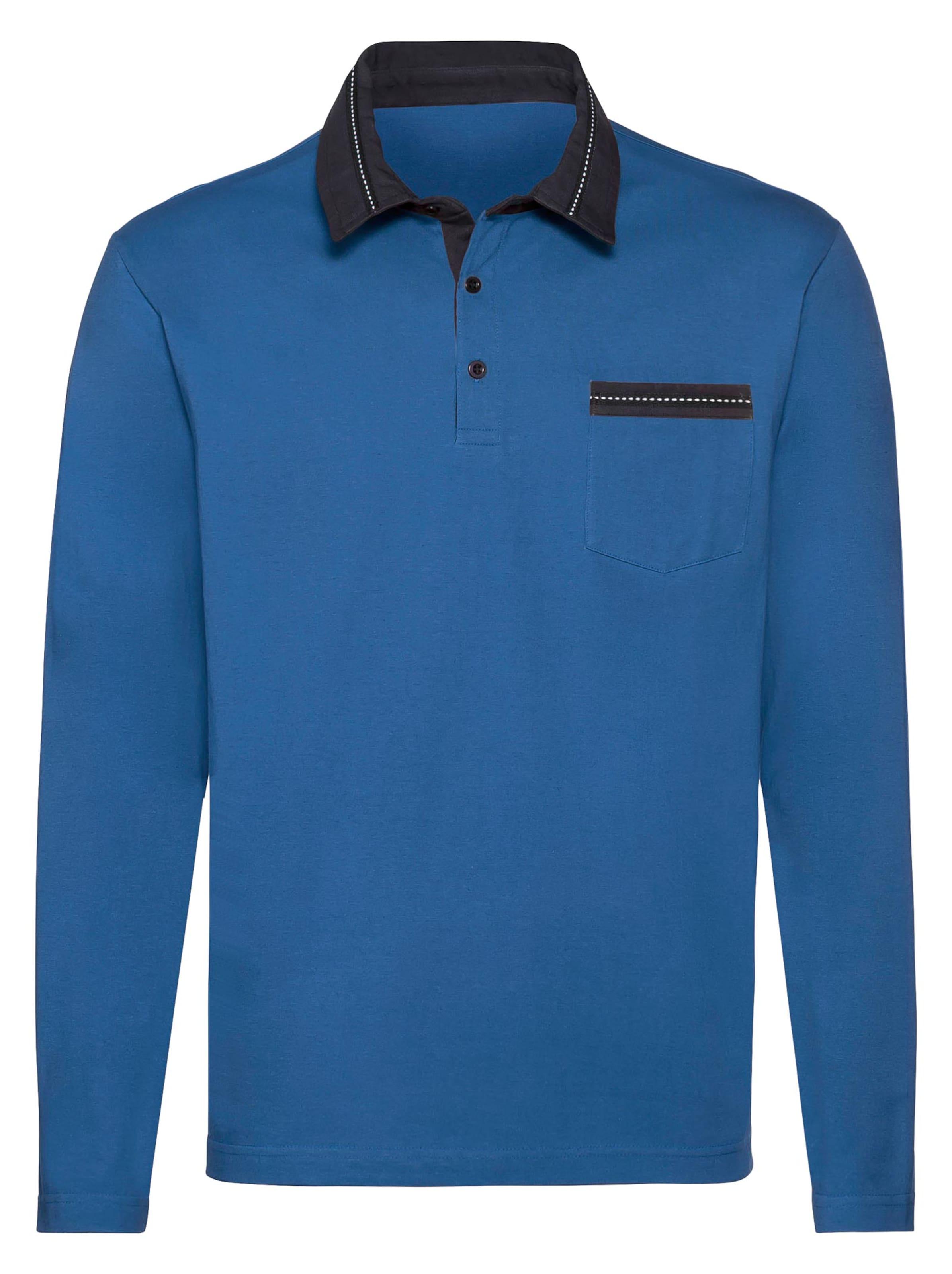 catamaran - Witt Weiden Herren Langarm-Shirt royalblau