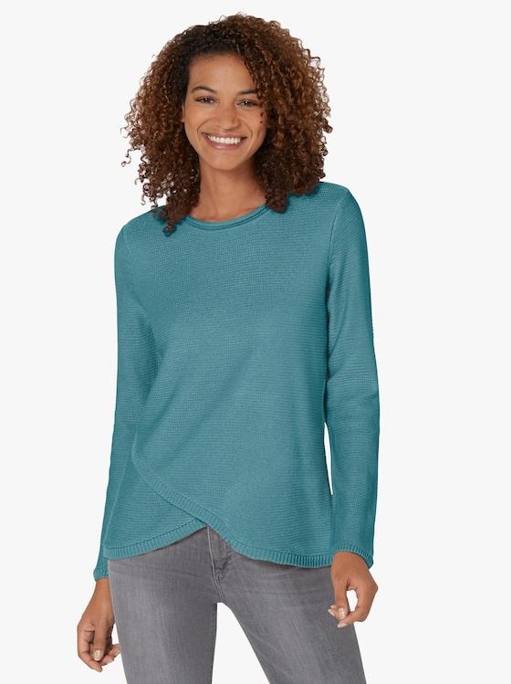 Pullover - winterturquoise