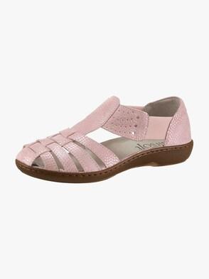 Slipper - pink-bedruckt