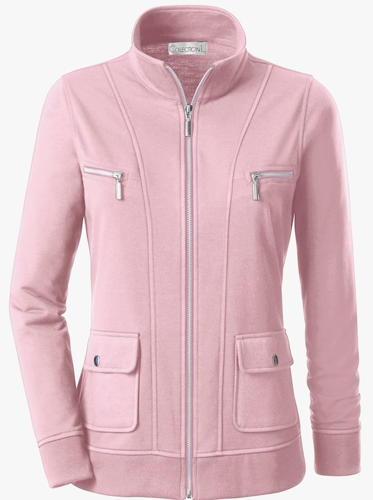 Collection L Shirtjacke - rosé