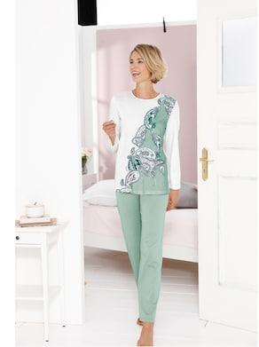 Cybele Schlafanzug - mint-ecru