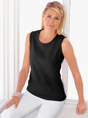 Shirttop - schwarz