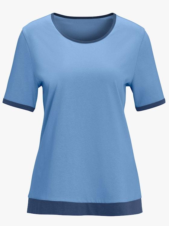 Shirt - hemelsblauw