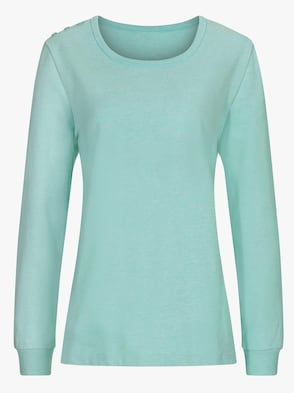 Shirt - mint-meliert