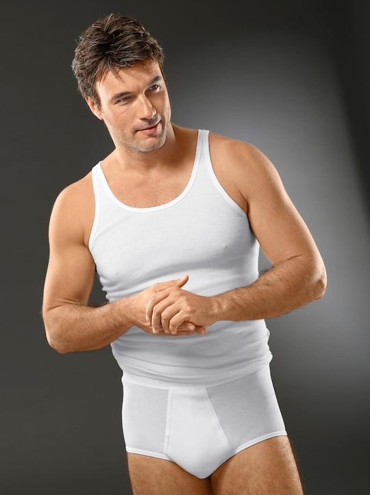 Schiesser Unterhemd - weiß