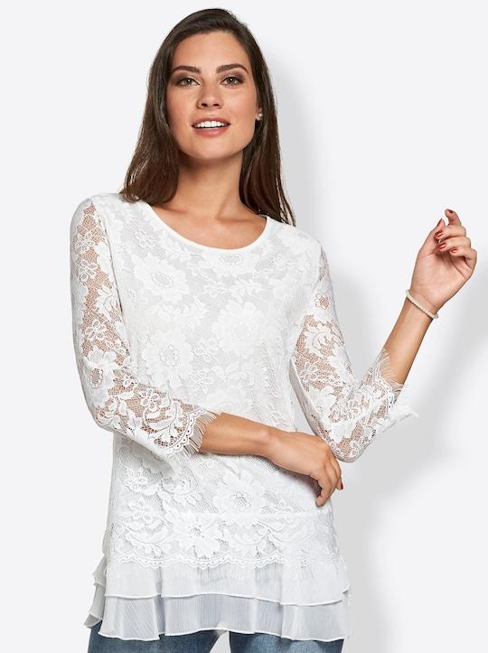 Fair Lady Shirt - weiß