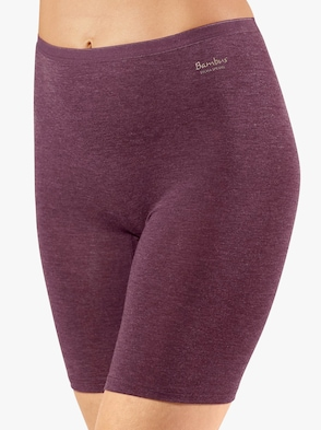 Pants - bordeaux-meliert