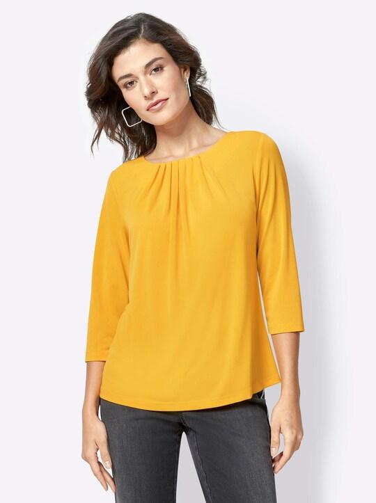 Shirt - maïsgeel