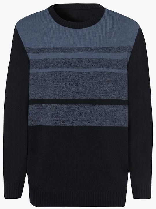 Pullover - marine-blau