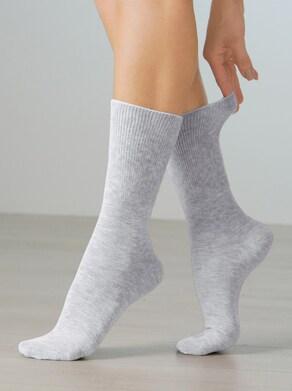 wäschepur Socken - grau