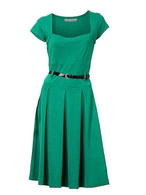 Ashley Brooke Jersey-Kleid - grün