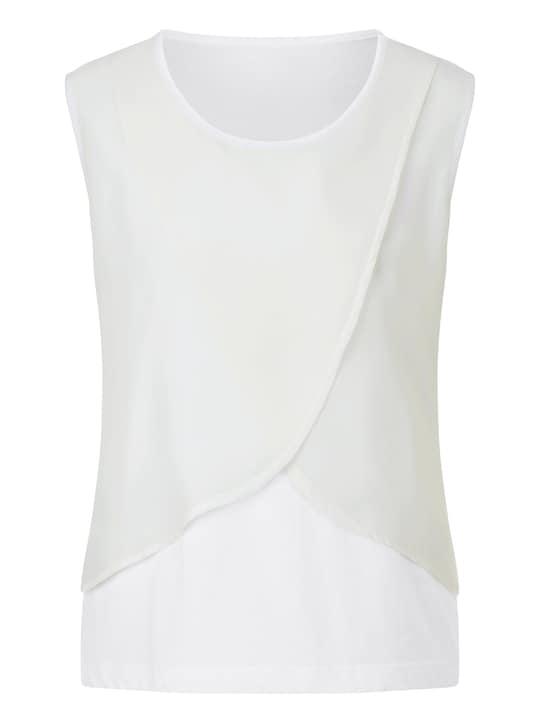 Shirttop - wollweiß