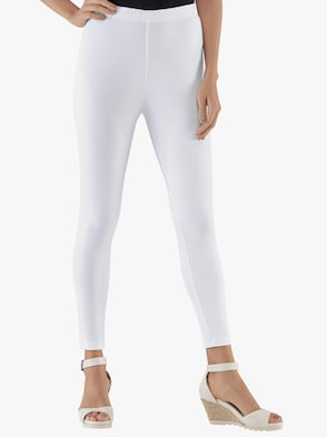 Leggings - weiß