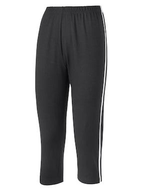 Capri-Leggings - schwarz-weiß
