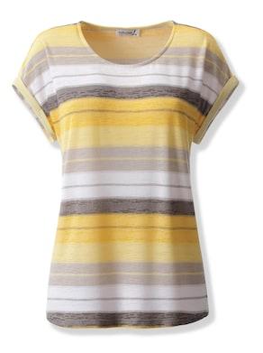 Shirt - gelb-gestreift