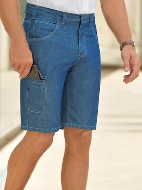 Catamaran Jeans-Bermudas - blue-stone-washed