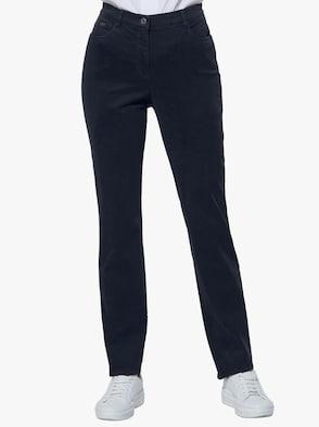 Baumwoll-Modal-Jeans - marine