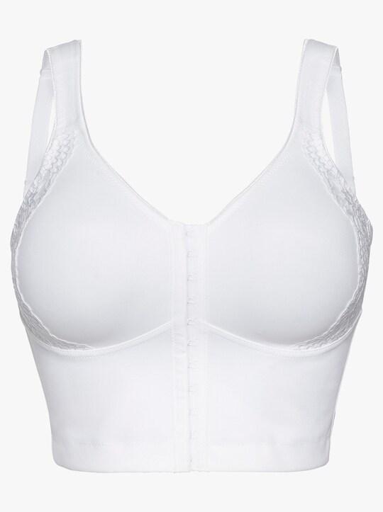 Susa Vorderverschluss-BH - weiß