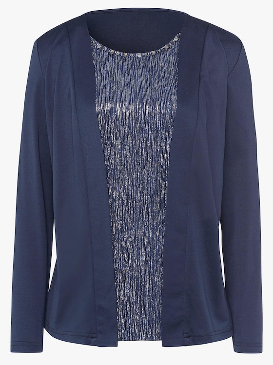 Shirt - koningsblauw