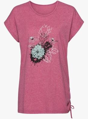 Shirt - pink-meliert