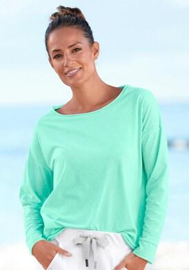 Elbsand Langarmshirt - mint-meliert