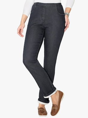 Termojeans - black-denim