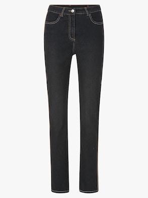 Jeans - black-denim