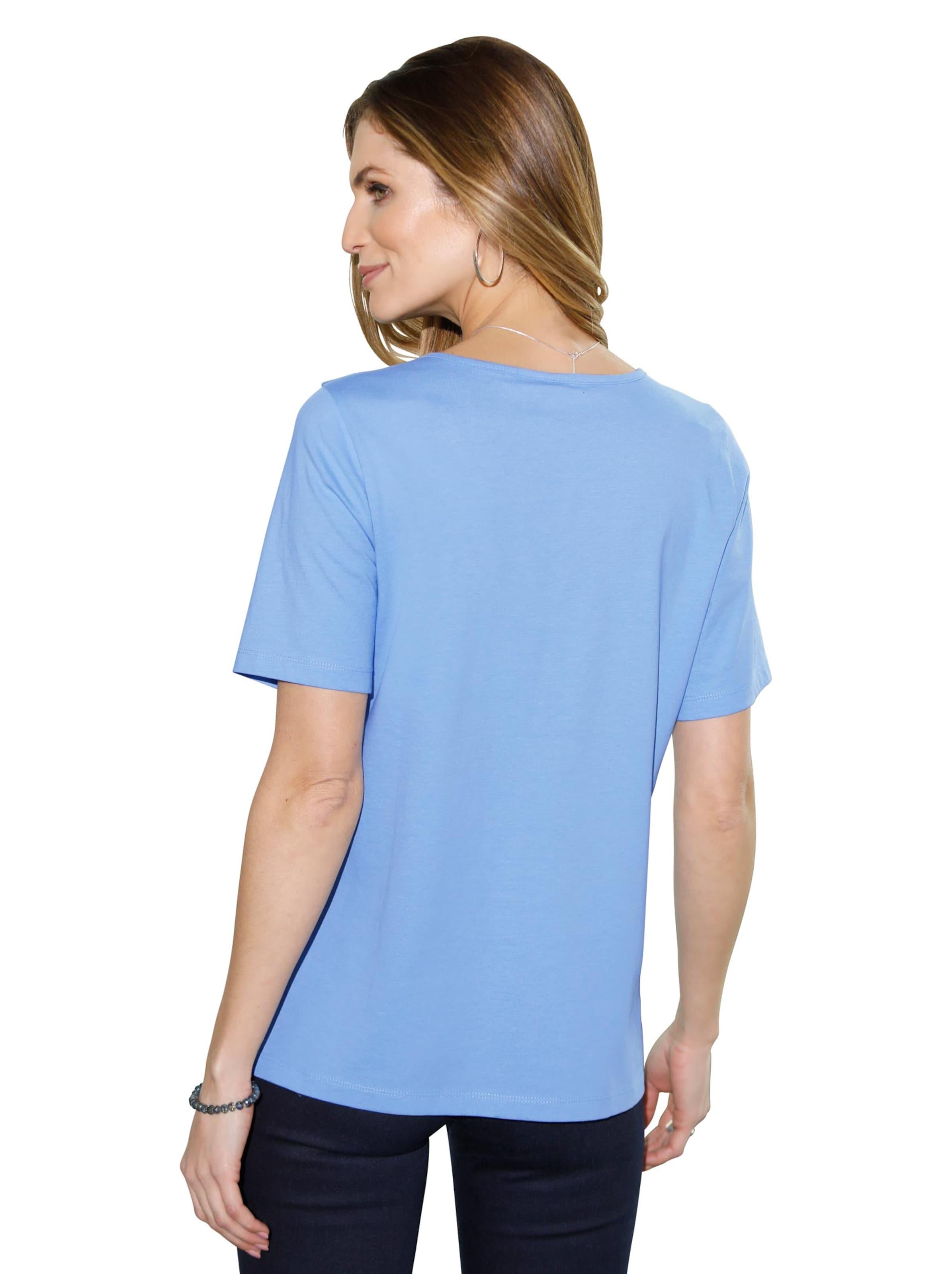 Damen Shirt himmelblau
