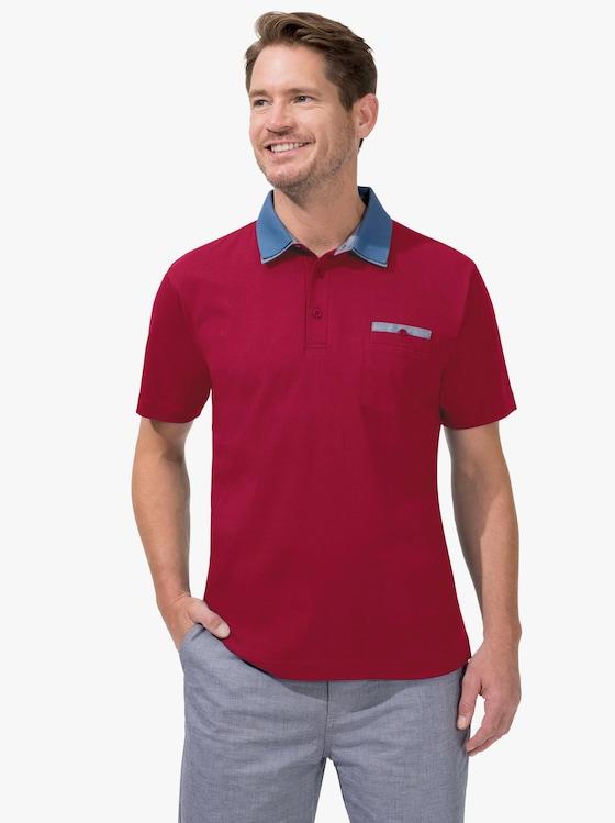 Kurzarm-Shirt - rot