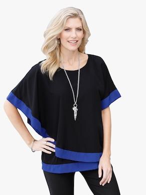 Tunika - svart-blå