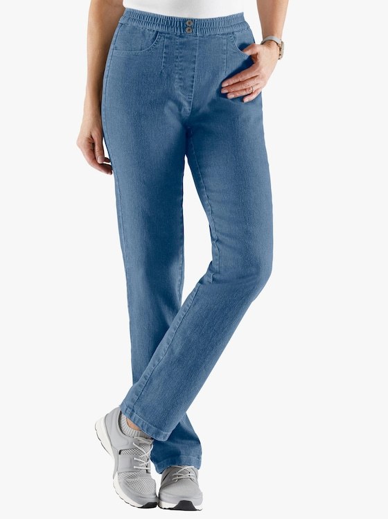 Jeans - blue-bleached