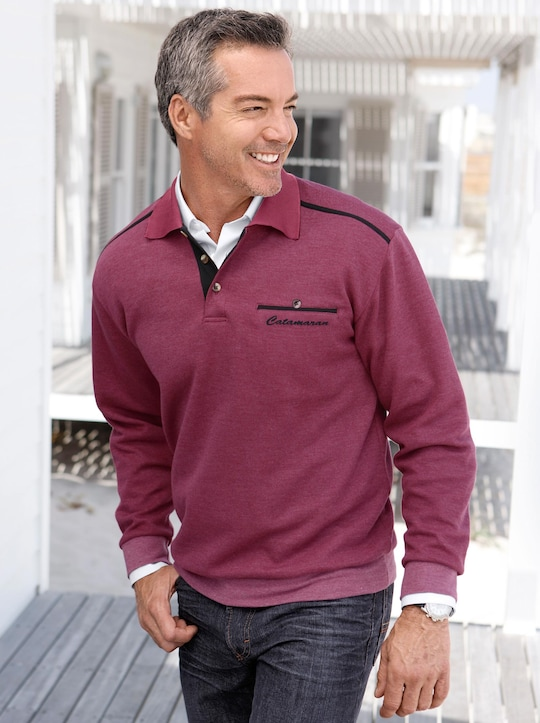 Catamaran Sweatshirt - bordeaux