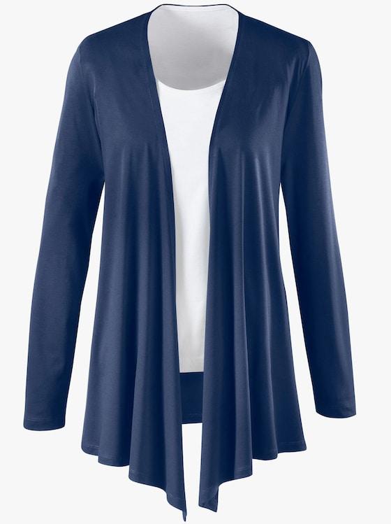 Shirtjacke - nachtblau