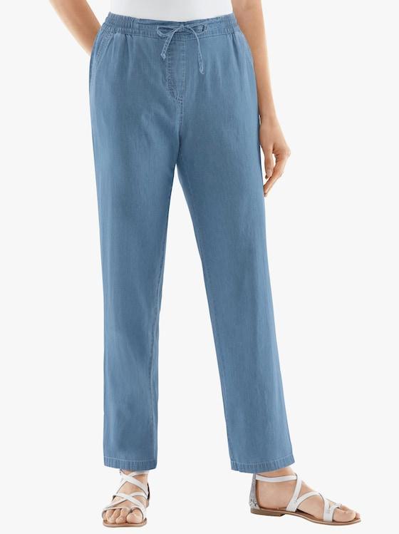 Hose - blue-bleached