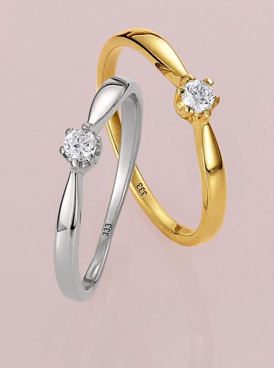 Ring - Weißgold 585