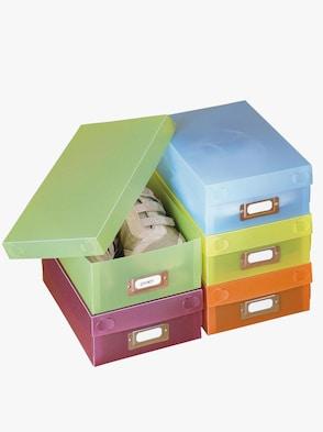 Schuhboxen - bunt