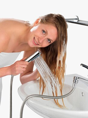 Umývadlová sprcha - Strieborná