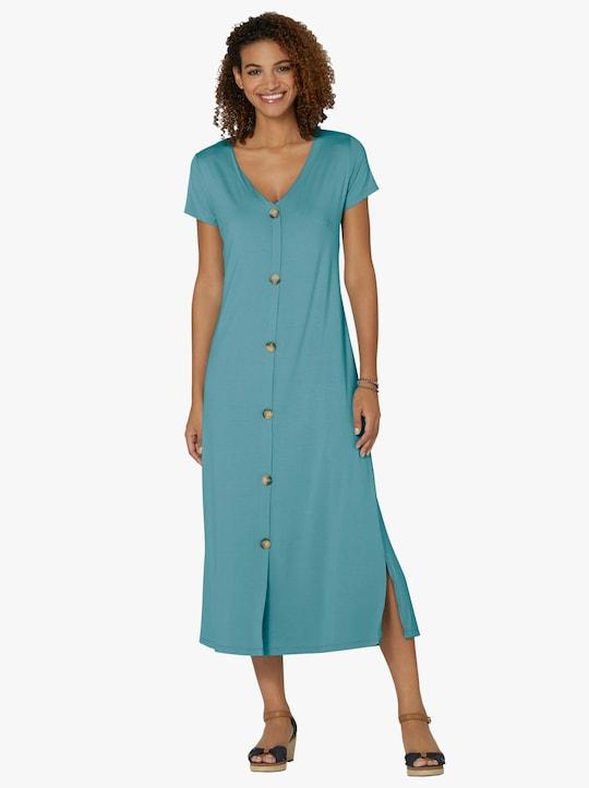 Džersejové šaty - Oceán.
