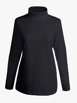 Colshirt - zwart