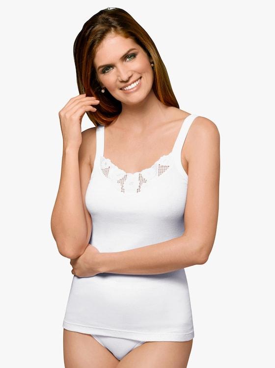 Thieme Trägerhemd - weiß