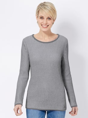 Collection L Pullover - grau