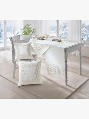 Mitteldecke - weiß