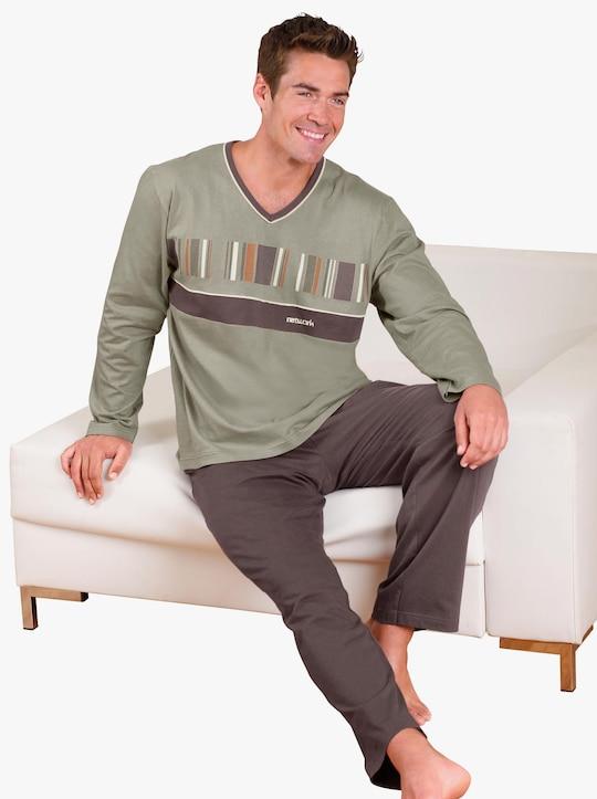 Top Ten Schlafanzug - schilf-braun