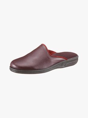 Papuče - bordová