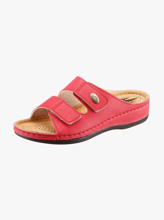 Franken Schuhe Pantolette - rot