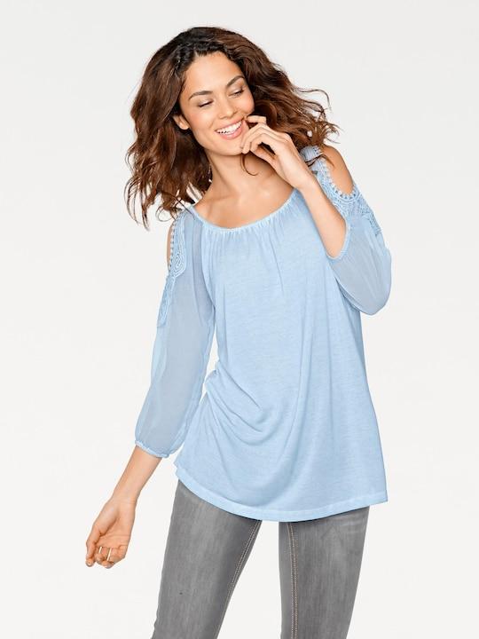 Linea Tesini Blusenshirt - bleu