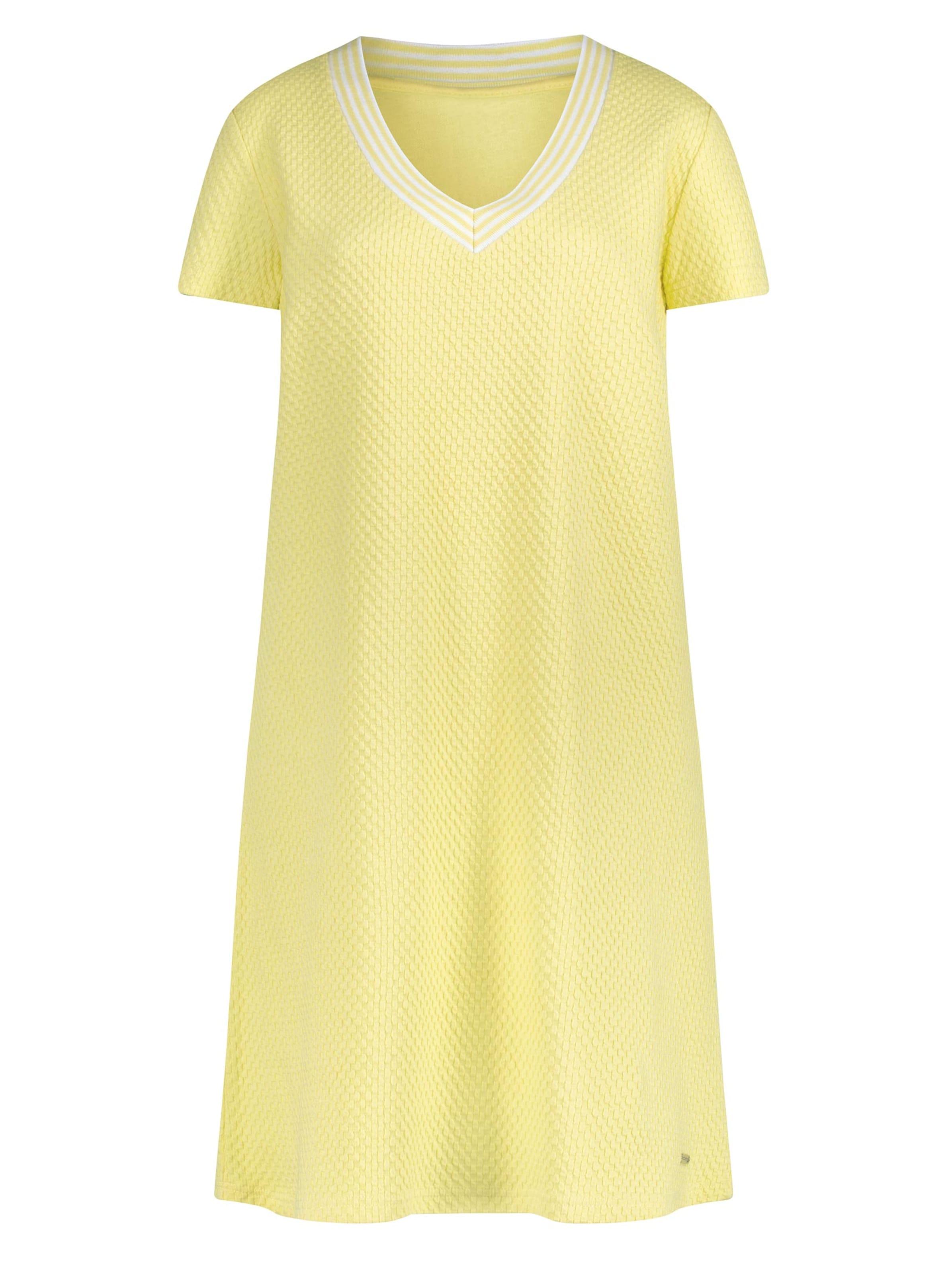 witt weiden -  Damen Jersey-Kleid zitrone
